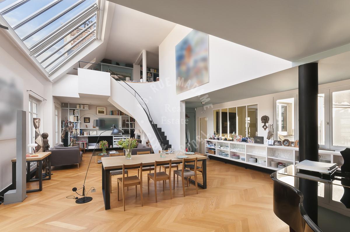 Exceptionnel appartement en etage eleve au Pantheon
